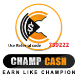 Champcash Referral Code & Complete Guide
