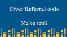 Fiver Referral code (Make 100$)